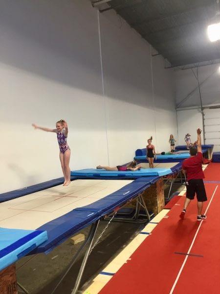 trampoline athletes