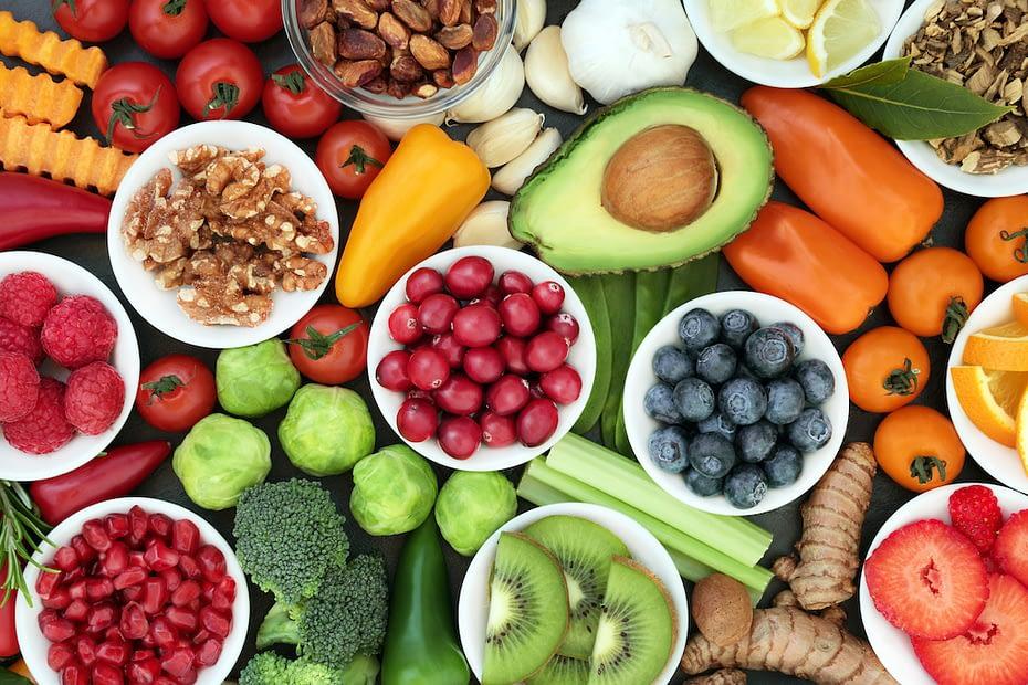 healtu fruits and vegetables